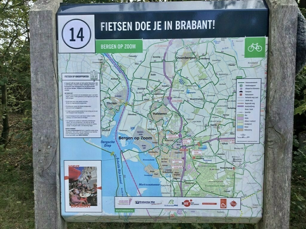 LF, Lange afstand Fiets routes.